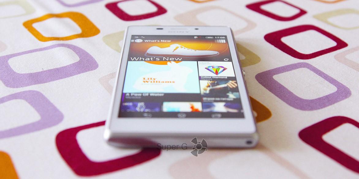 Обзор Sony Xperia M2