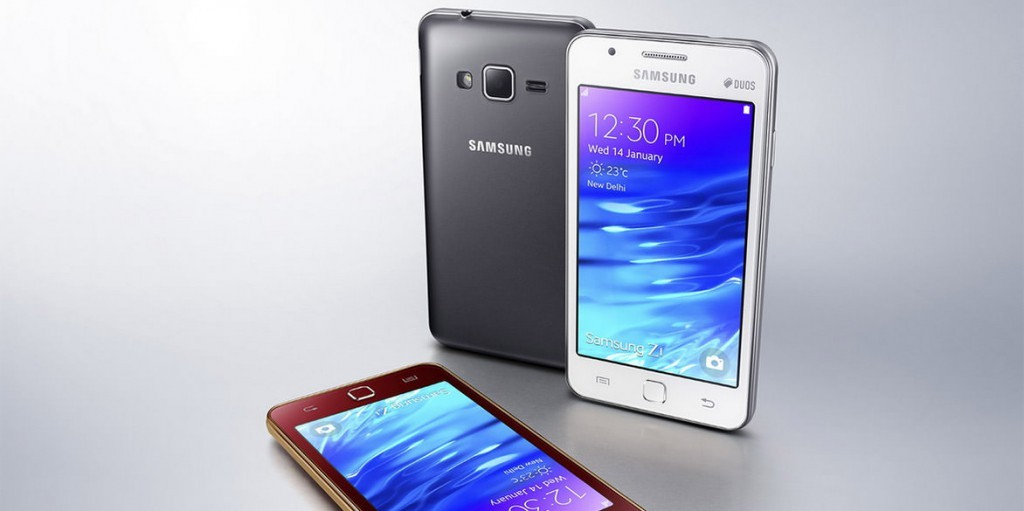 Смартфон на ОС Tizen Samsung Z1
