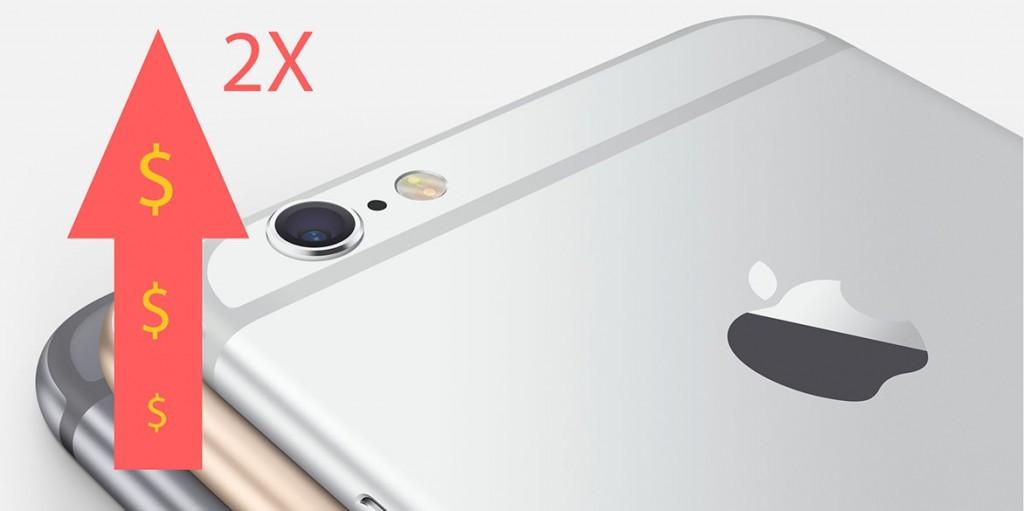 Цена на iPhone 6 выросла