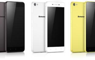 Lenovo S60 черный, белый, желтый
