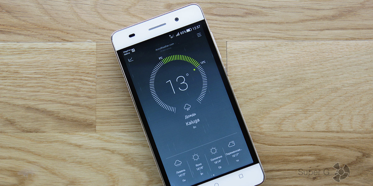 Обзор смартфона Huawei Honor 4C