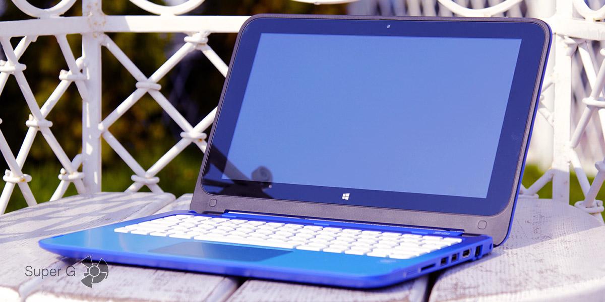 Обзор ноутбука HP Stream x360