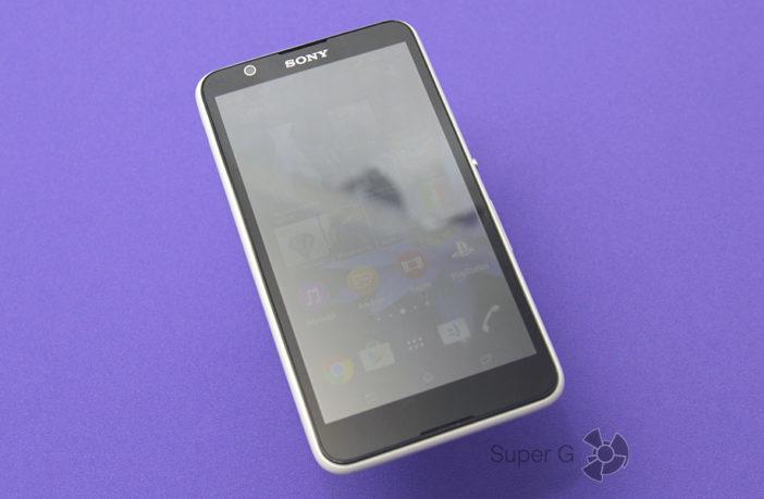 Обзор смартфона Sony Xperia E4