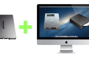 Как установить SSD диск в iMac 27'' не вынимая DVD-ROM