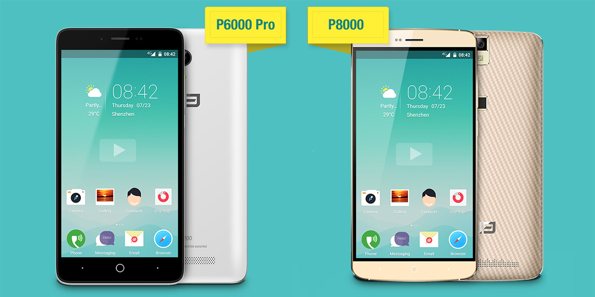 Обзор и сравнение Elephone P6000 Pro и Elephone P8000