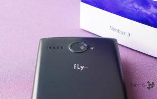 Обзор смартфона Fly Nimbus 3 FS501