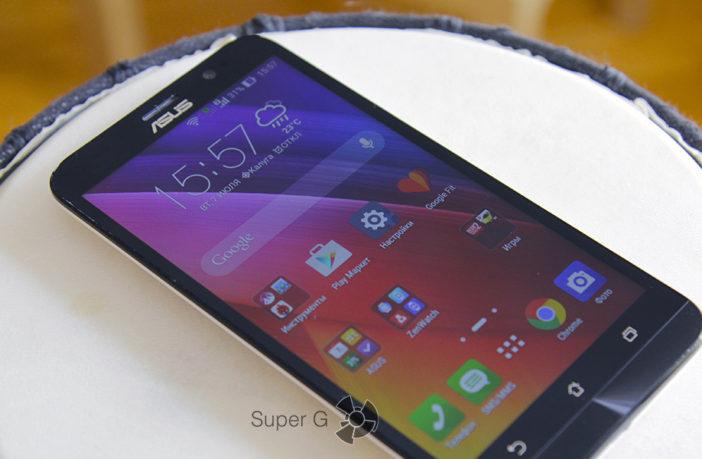 Обзор и цены Asus Zenfone 2 ZE550ML