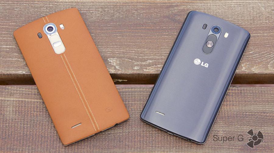 LG G4 и G3