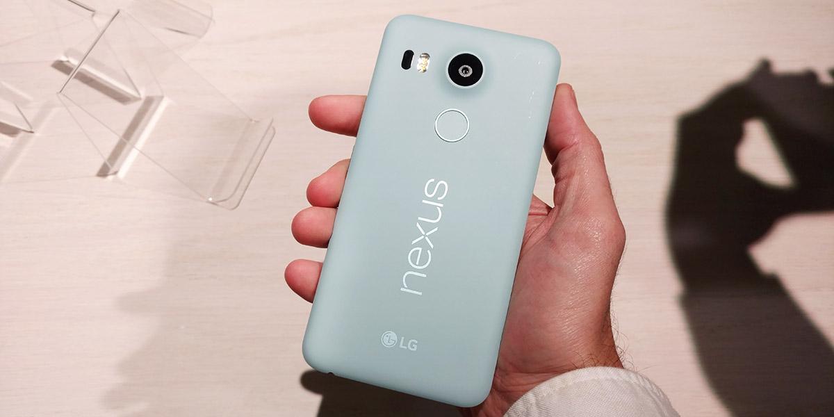 Смартфон Google Nexus 5X мятный или ментоловый