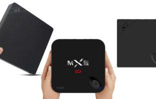 Три приставки Beelink i68, X2 и MXIII