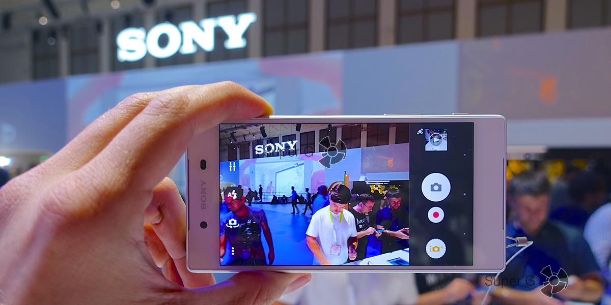 Первый взгляд или небольшой обзор Sony Xperia Z5