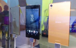 Смартфон-концепт Sony Xperia Z5 Premium