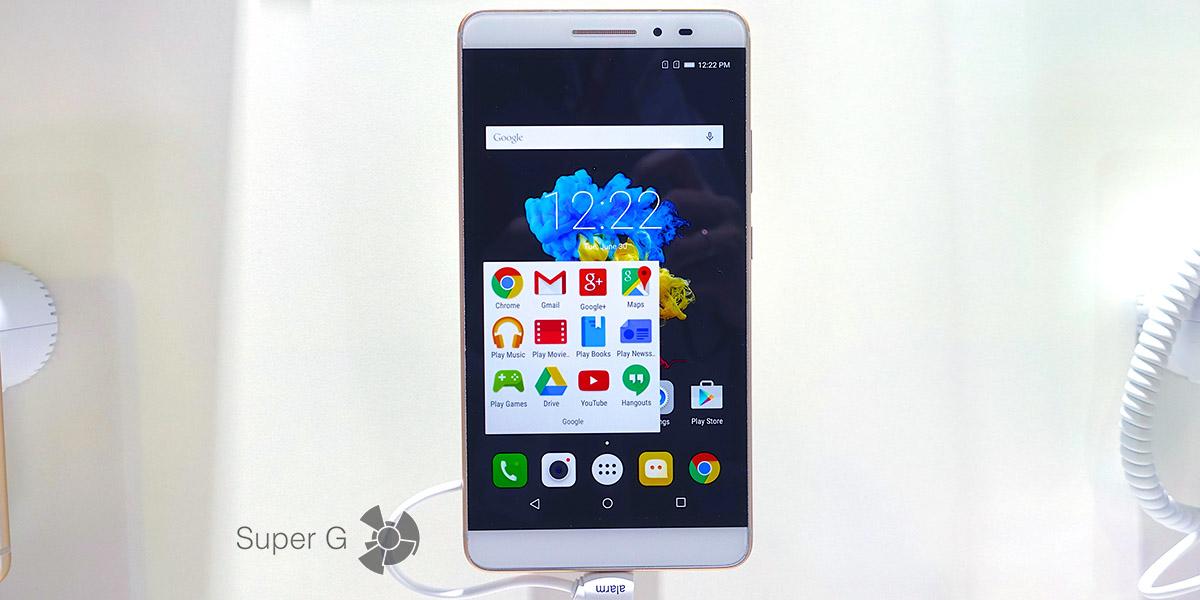 Стильный и доступный планшет или планшетофон Lenovo PHAB Plus