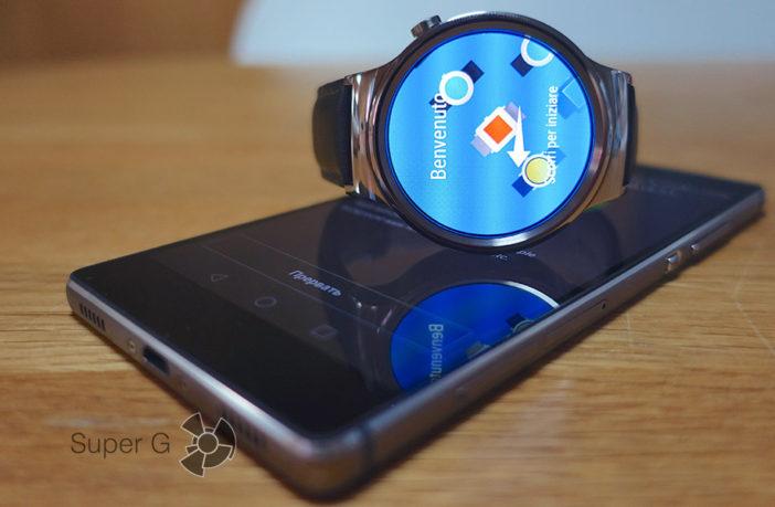 Обзор умных часов Huawei Watch