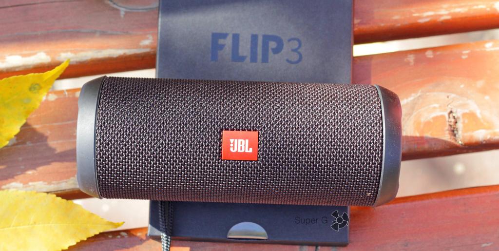 JBL Flip 3 Black Bluetooth 4.2 беспроводная колонка с чистым звуком глубоким бассом и аккумулятором в 3 Ач!