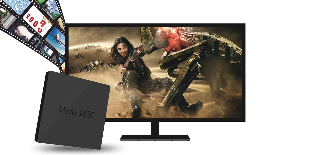 Мощная ТВ-приставка Beelink Mini MX для воспроизведения 4K-видео