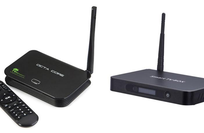 Chiptrip Z4 TV Box и T9 TV Box
