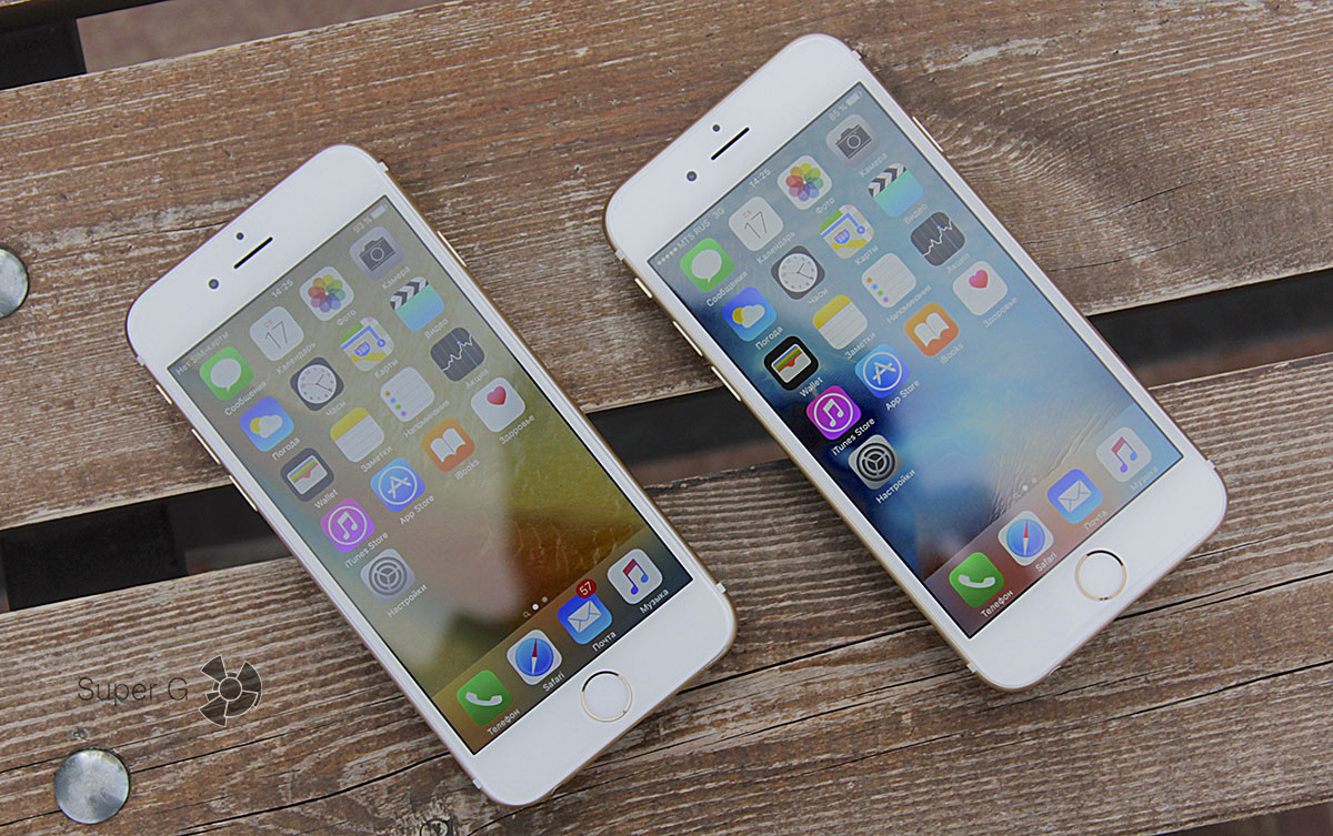 3D Touch на iPhone 6S
