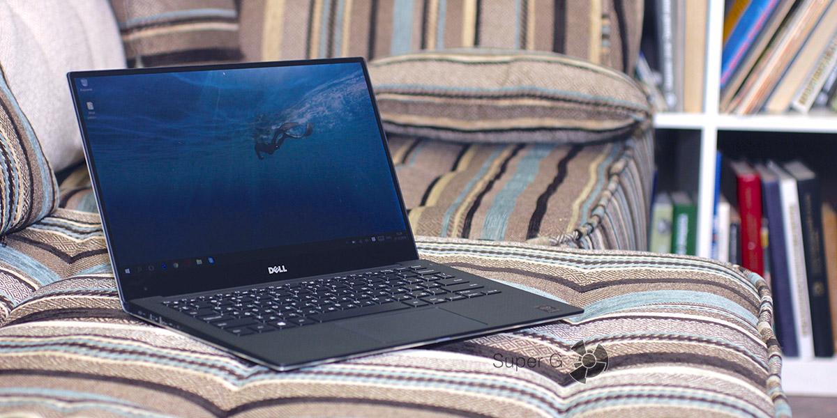 """Обзор ноутбука Dell XPS 13 с """"безграничным"""" дисплеем"""