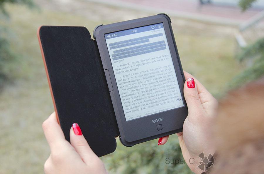 Как читать книги на электронной читалке