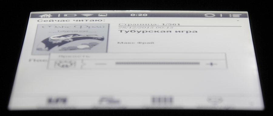 Экран на основе электронных чернил E Link
