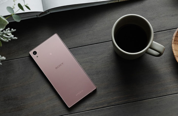 Компания Sony выпустила розовый Sony Xperia Z5