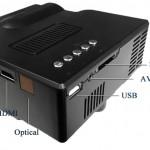 Разъемы ТВ-проектора UC-40