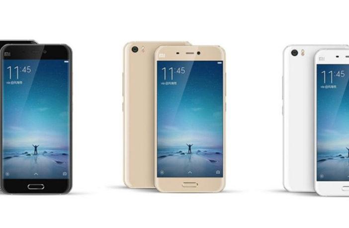 Сравнение характеристик Xiaomi Mi4 и Xiaomi Mi5