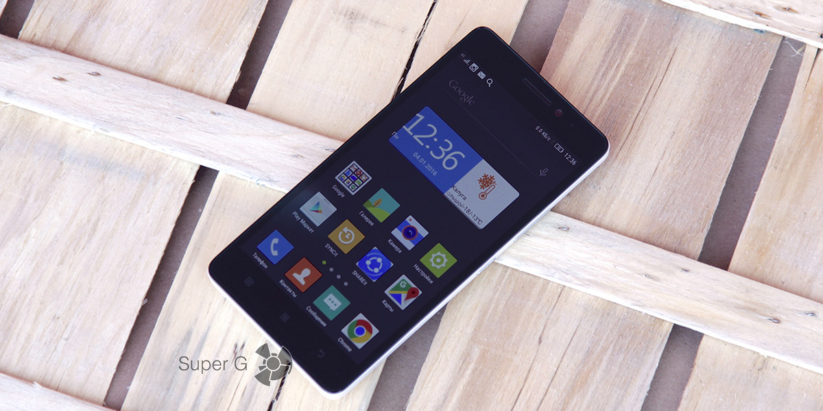 Обзор смартфона Lenovo A7000