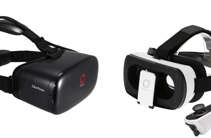 Доступная виртуальная реальность из Китая на пример гарнитур DeePoon