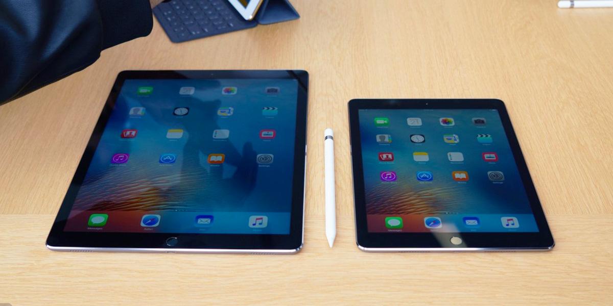 Сравнение iPad Pro 12.9 и iPad Pro 9.7