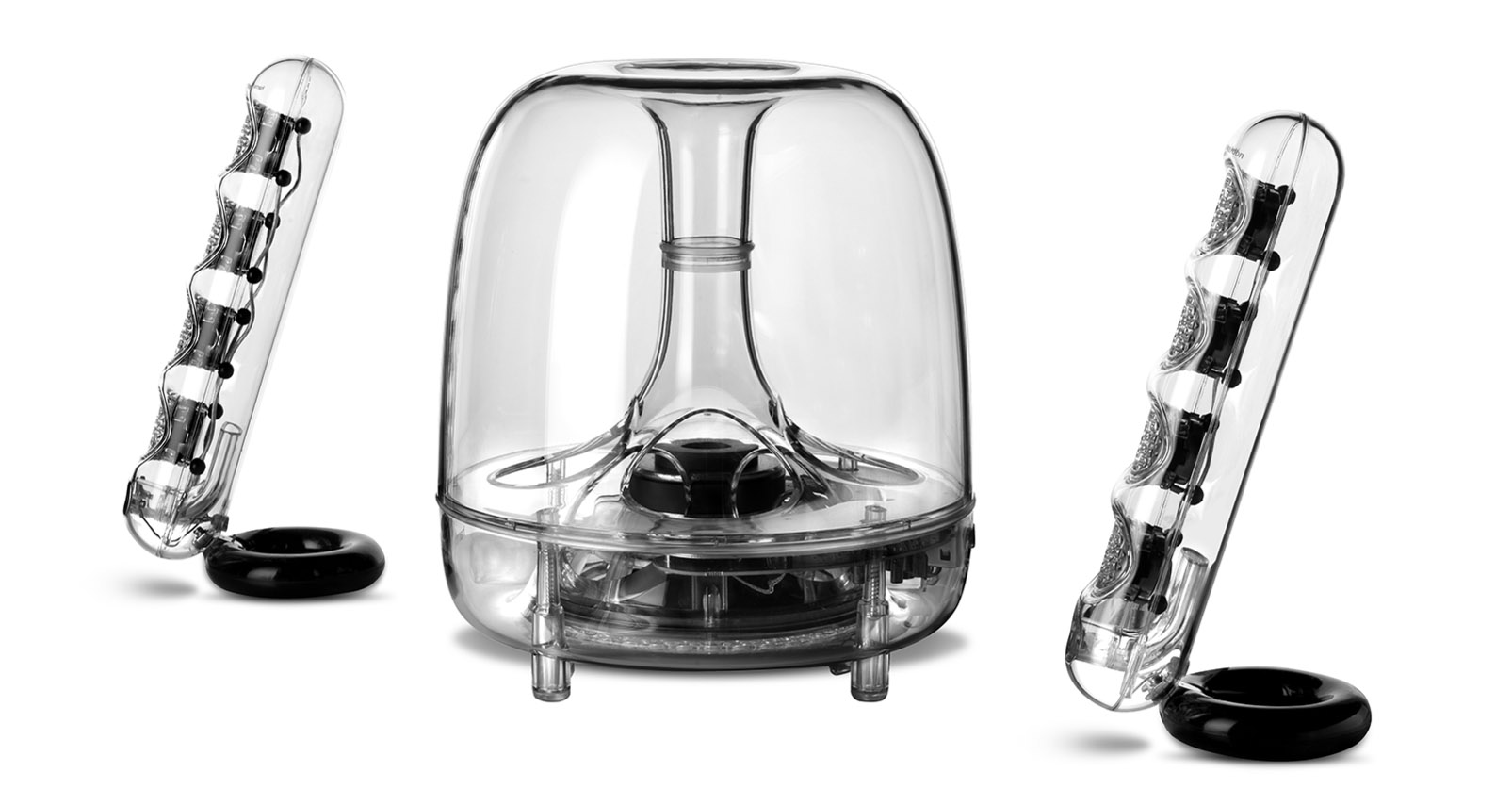 Акустика Harman Kardon Soundsticks iii сравнение с Logitech копия