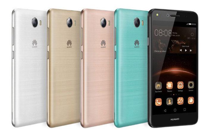 Дешевые смартфоны Huawei Y3 II и Y5 II