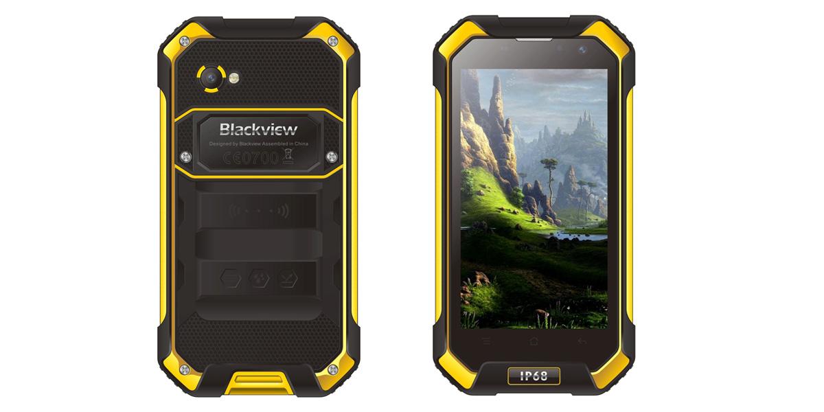 Blackview BV6000 защищенный от воды и пыли смартфон с процессором Helip P10