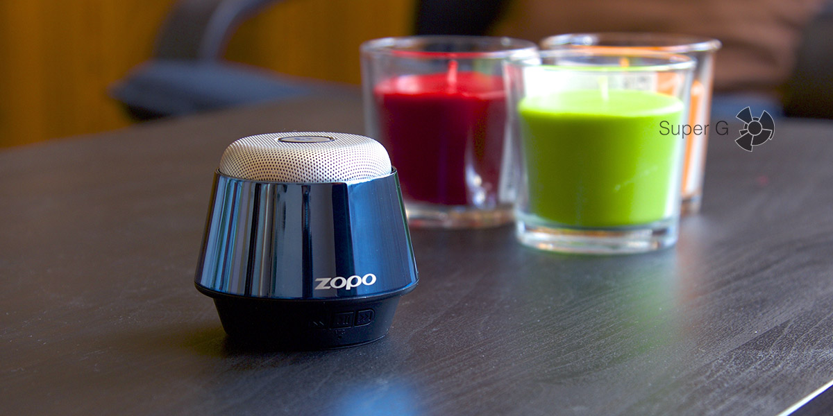 Обзор портативной колонки Zopo X700
