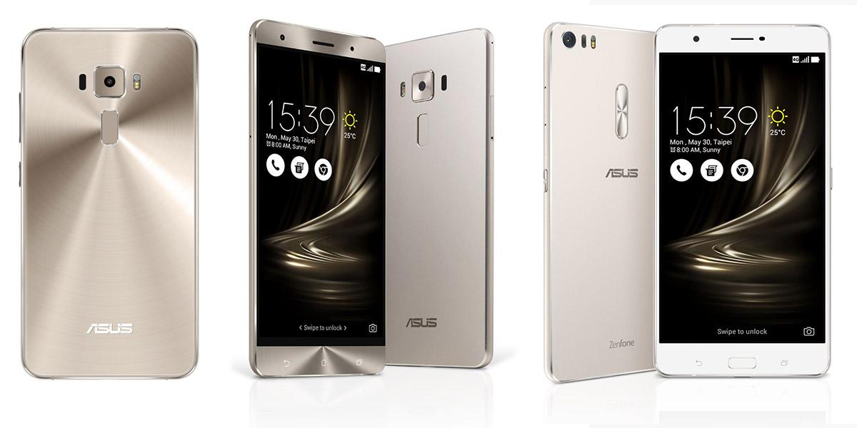 Полные характеристики и сравнение моделей Asus Zenfone 3, Deluxe и Ultra-версия
