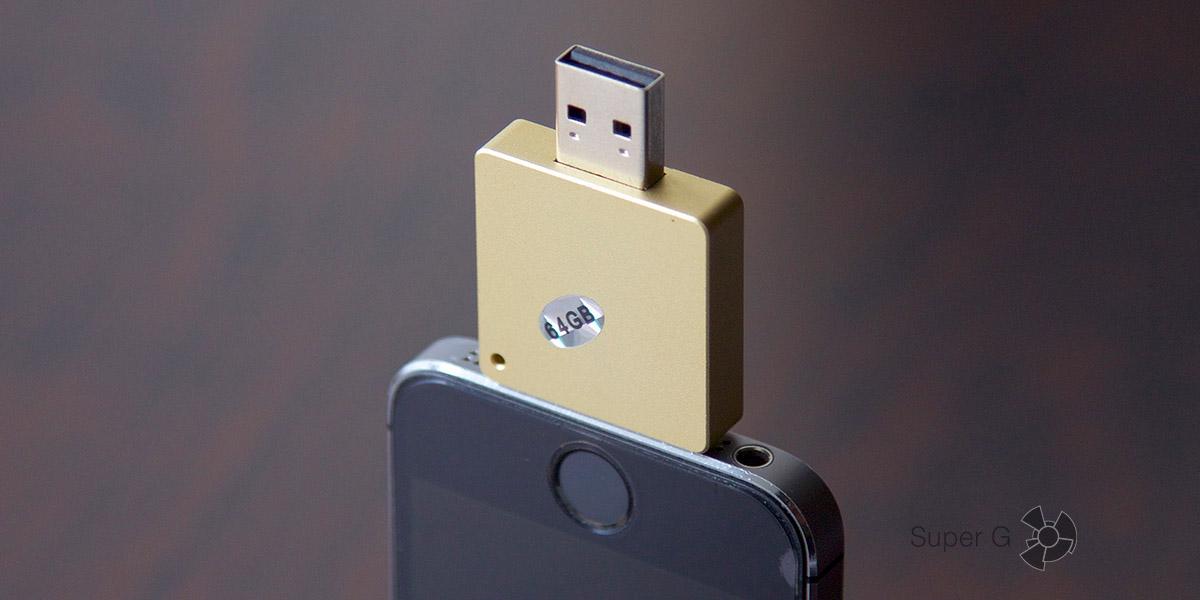 Обзор флешки для iPhone i-Flash Drive HD