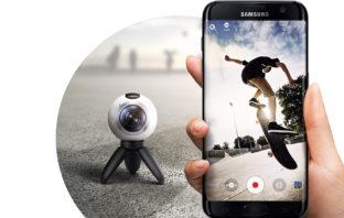 Функции Samsung Gear 360