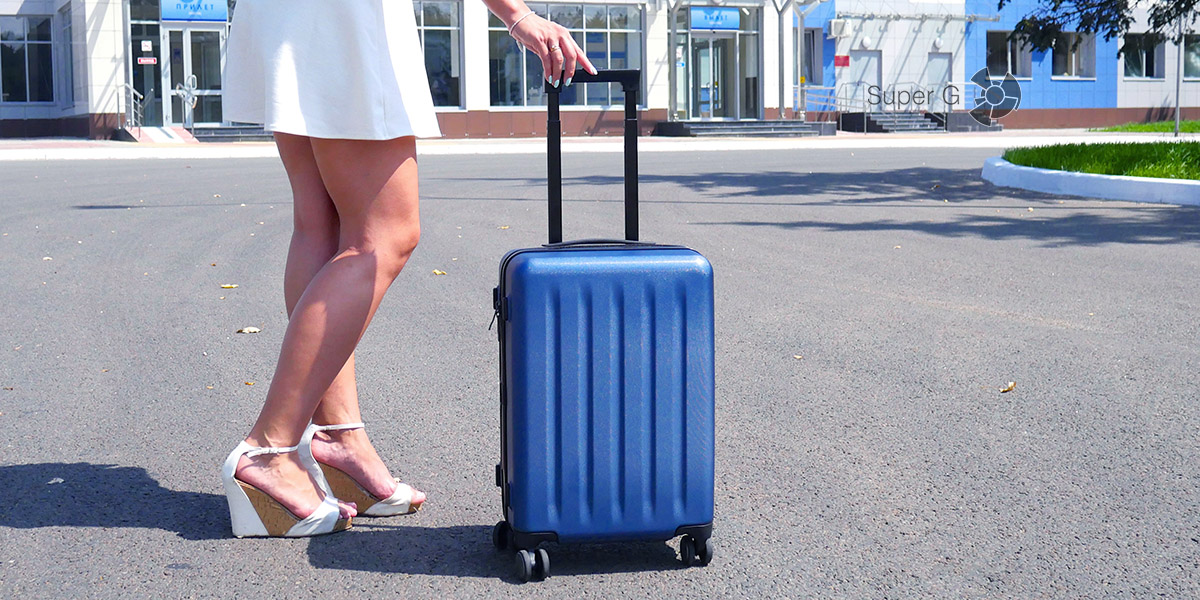 Обзор чемодана Xiaomi 90 Minutes Suitcase