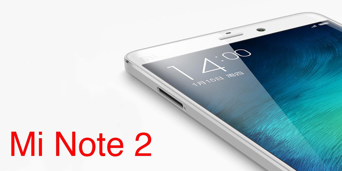 Xiaomi Mi Note 2 дебютирует 5 сентября