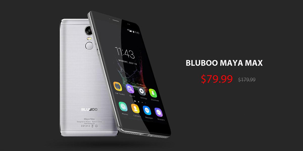 Цены в Китае продолжают падать - Bluboo Maya Max за $79