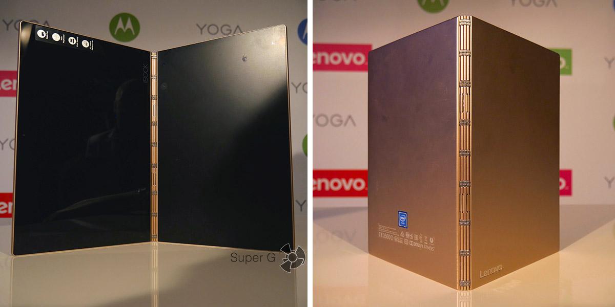 Краткий обзор Lenovo Yoga Book