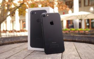 Распаковка iPhone 7