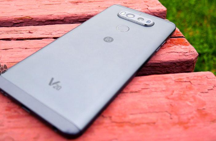 Обзор смартфона LG V20