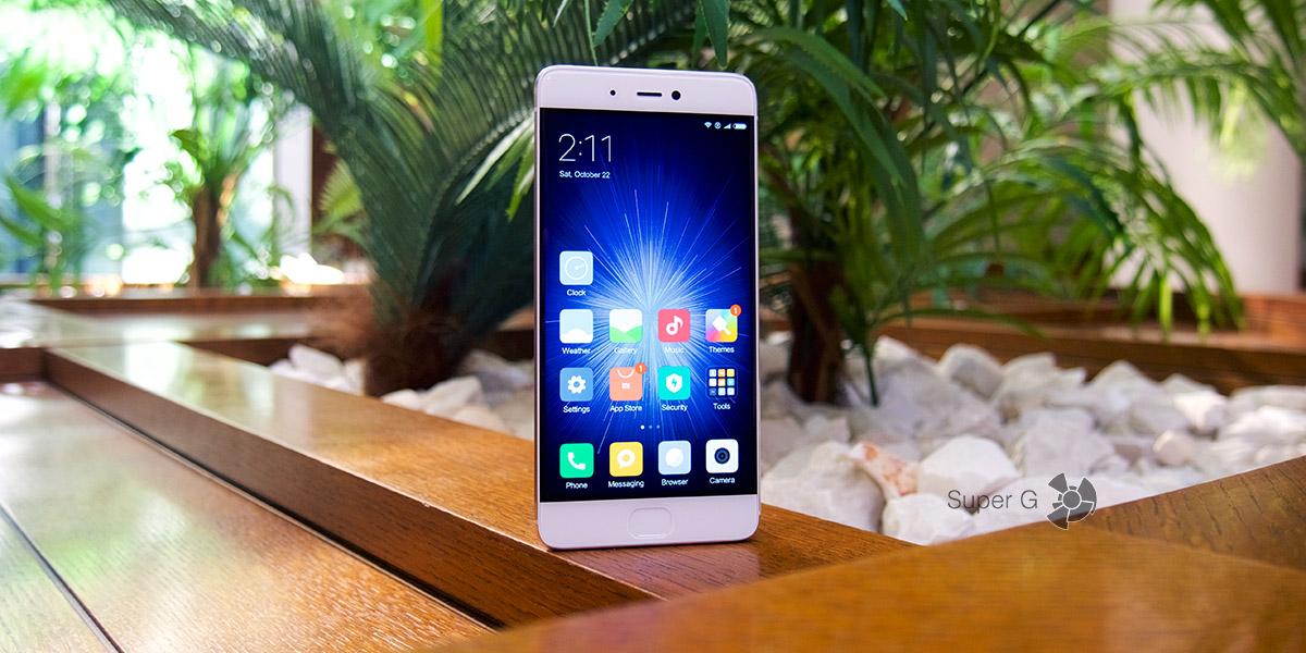 Обзор смартфона Xiaomi Mi5S
