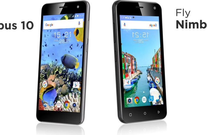Два новых смартфона от Fly- Nimbus 10 и Nimbus 11