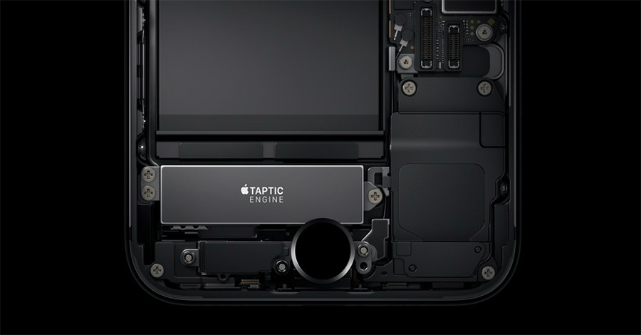 Моторчик Taptic Engine в iPhone 7