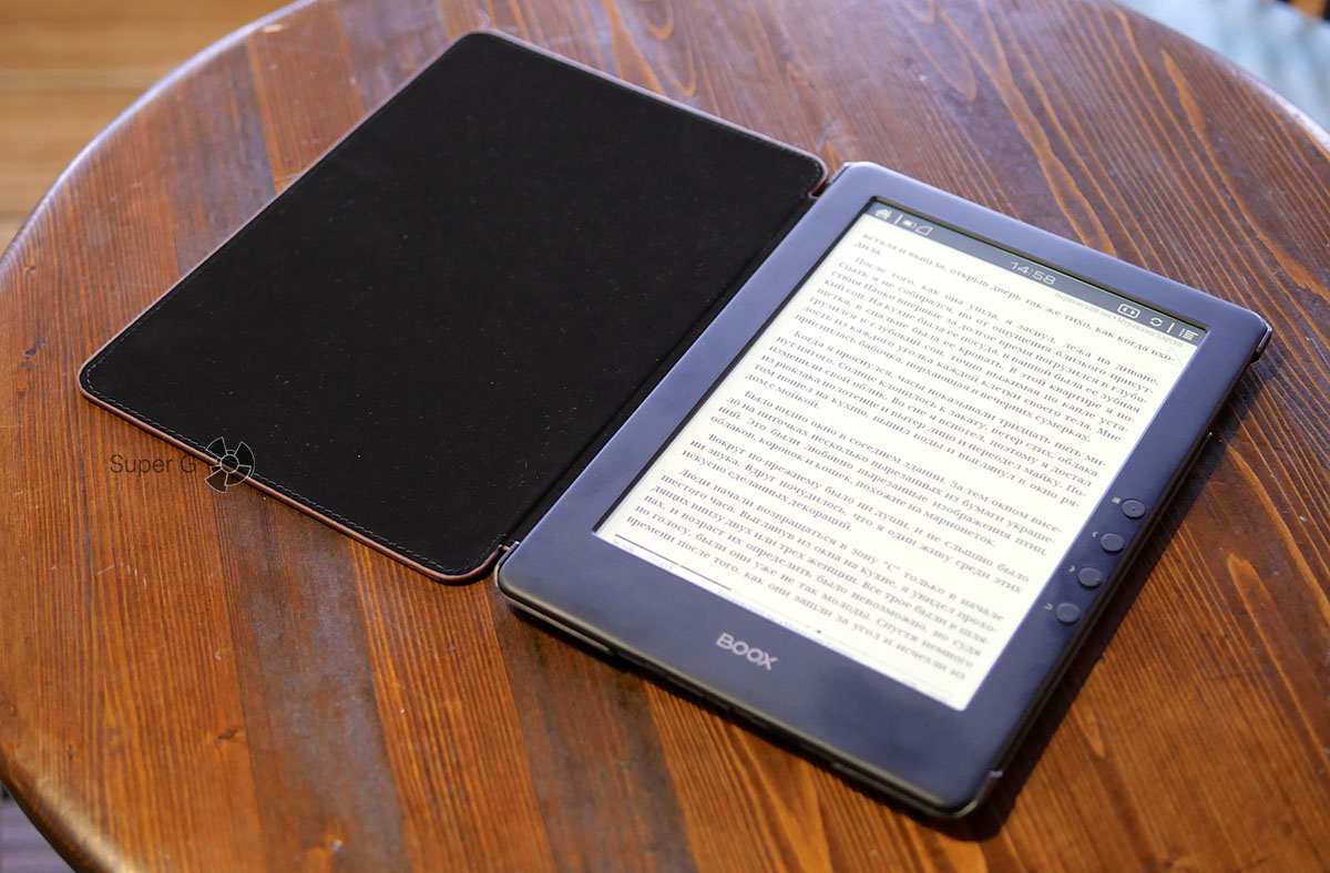 Электронная книга ONYX BOOX Prometheus сравнение с другими читалками