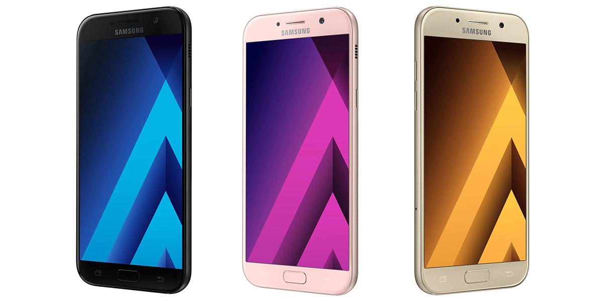 Серия Samsung Galaxy A 2017 представлена официально