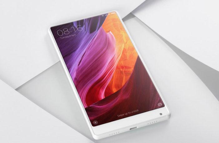 Xiaomi Mi MIX в белом корпусе, цена и дата выхода